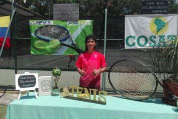 Marcelo Mariño conquistó en 2018 su primer título internacional: Fotografía: Liga Antioqueña de Tenis