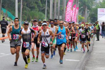 La competencia reunirá a más de 2000 deportistas este domingo. Fotografía: Cortesía