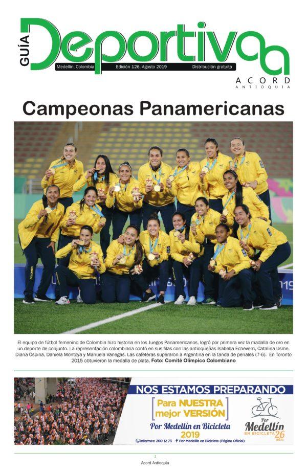 Guía Deportiva - Agosto 2019