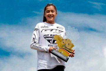 Nicole Foronda: bicampeona del mundo a los 12 años