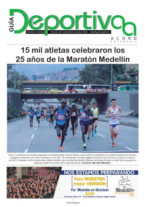 Guía Deportiva - Septiembre 2019